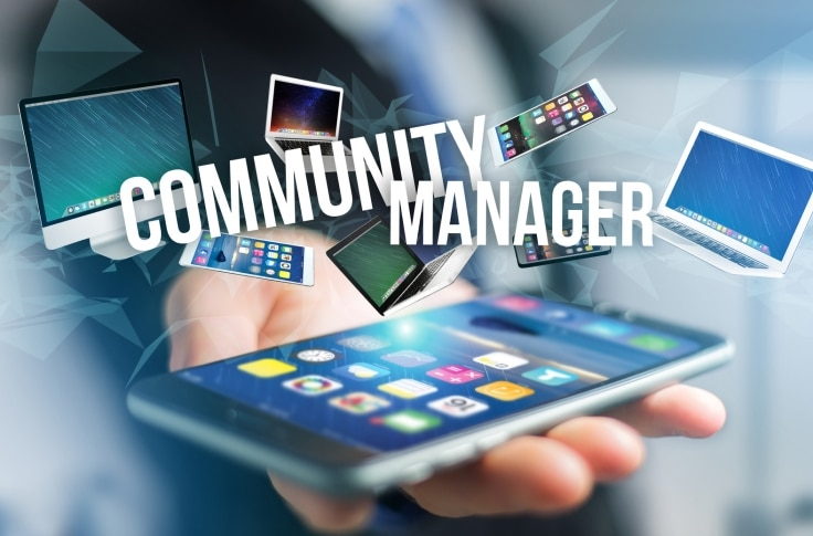 community manager toulon